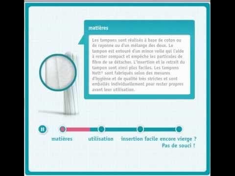 Tout sur le tampon - Utilisation tampon hygiénique - NETT®