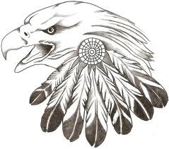 Eagle Feather drawing/tattoo