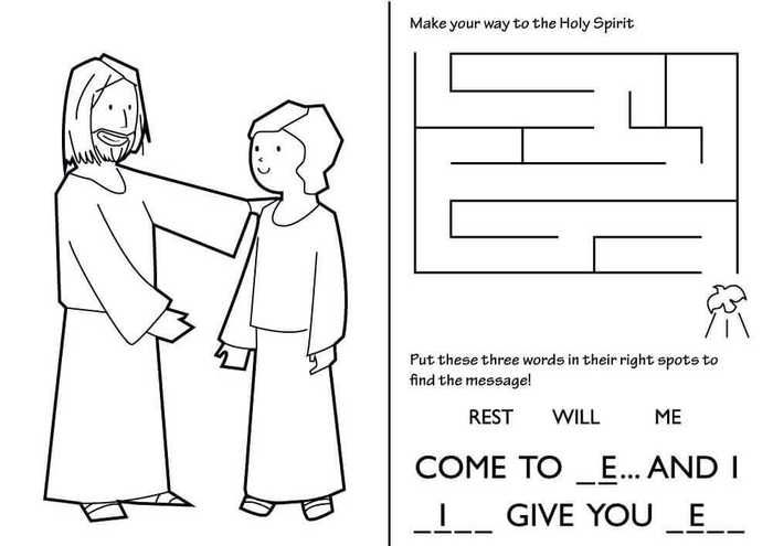 Free Printable Lent Coloring Pages Free Coloring Sheets Activity Sheets For Kids Activity Sheets Coloring Pages