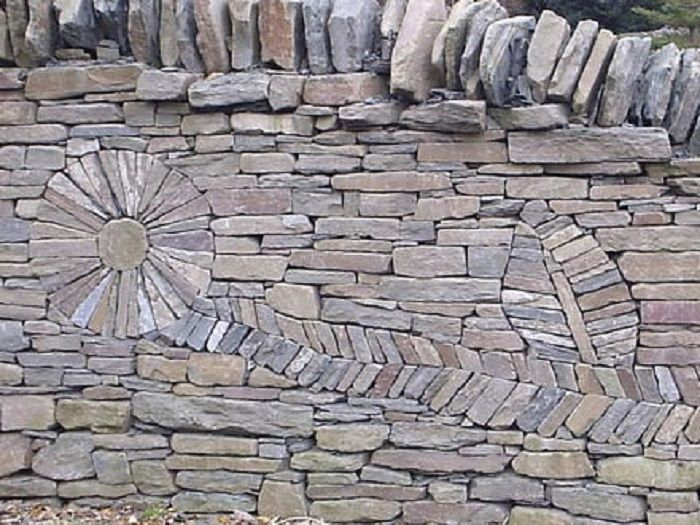 best 25 dry stone ideas on pinterest - Rock Wall Design