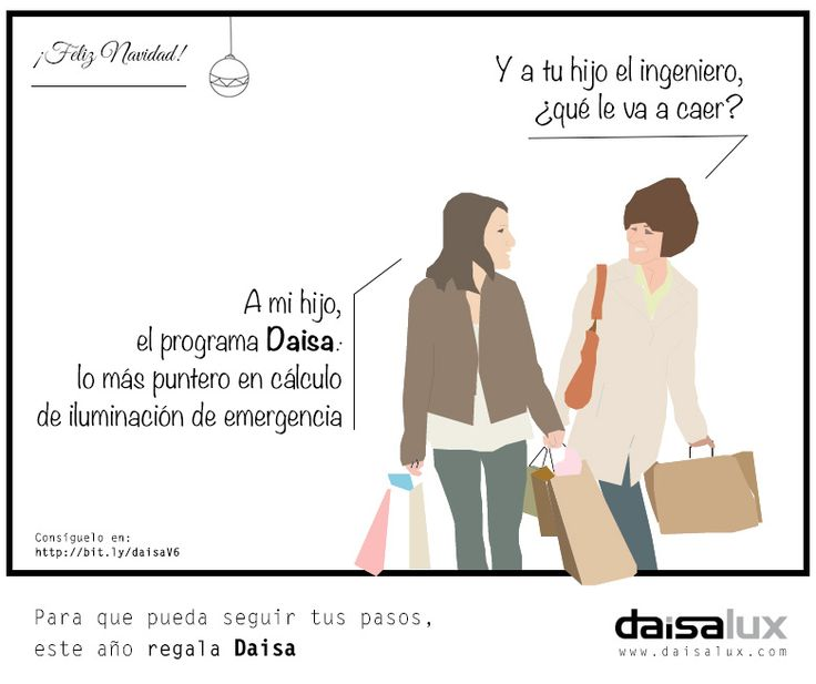 Seguro que hay alguien en casa que quiere seguir tus pasos. Este año, pónselo fácil y regálale Daisa. Le harás el camino mucho más fácil. Consíguelo en bit.ly/daisaV6