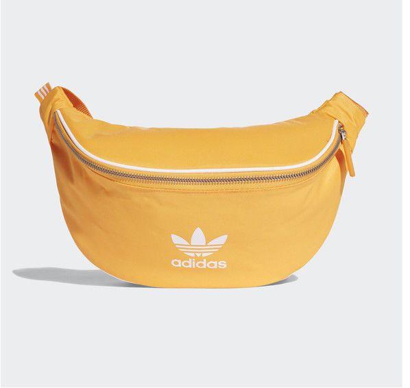 584e5509561 adidas Originals Bum Bag Waist Bag Hip Sack Gold Zipper 3 Stripes Golf  DH4315  adidas  CrossBodyBag