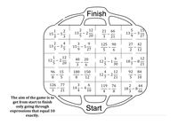 Adding Mixed Numbers - Maze by Rosiebaggs1 - UK Teaching Resources - TES