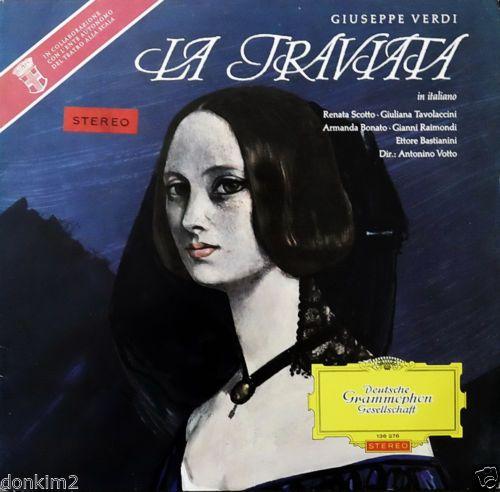 1963 Antonino Votto Verdi La Traviata Highlights DGG Red Stereo Slpem 136 276 | eBay