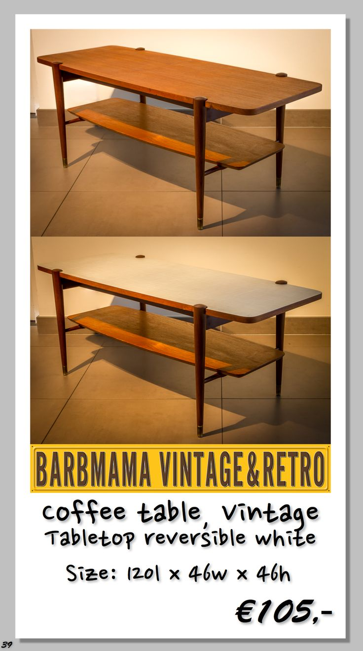 217 best barbmama design vintage images on pinterest retro type coffee table model vintage designer unknown producer unknown geotapseo Gallery