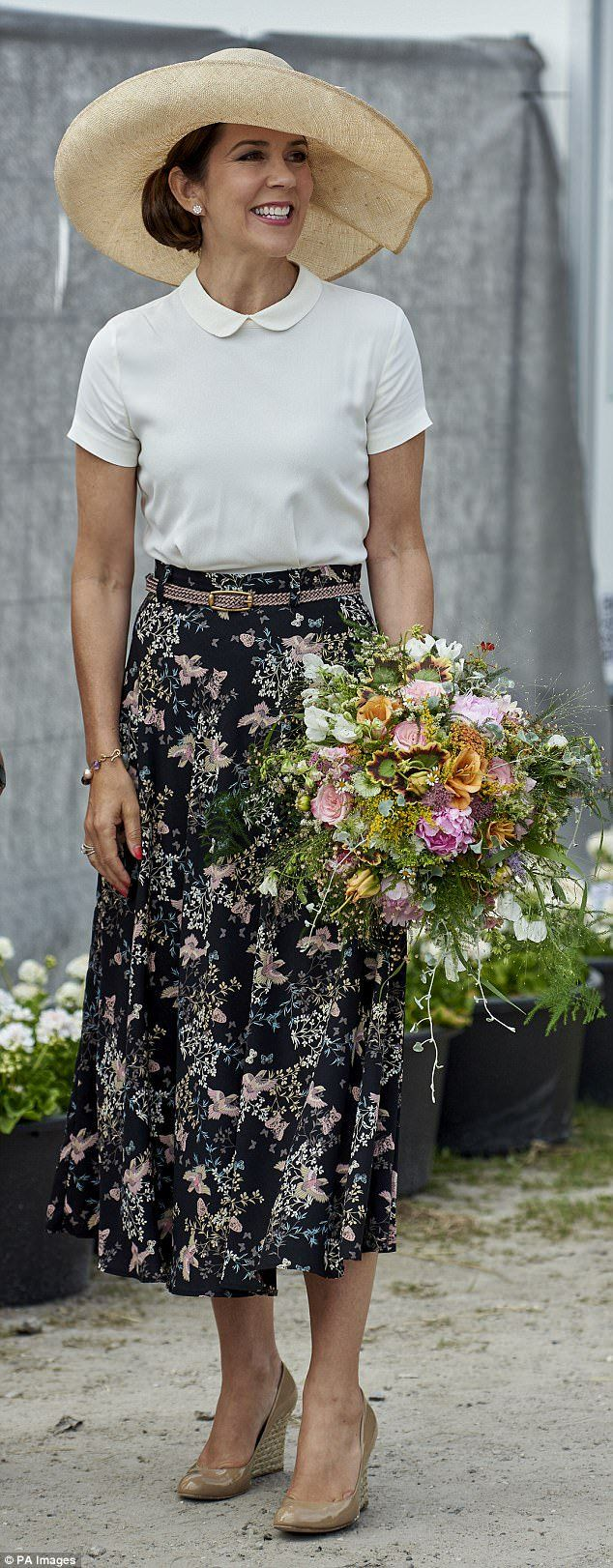 21 June 2017 - Princess Mary opens the CPHGarden 2017 - skirt by Andiata