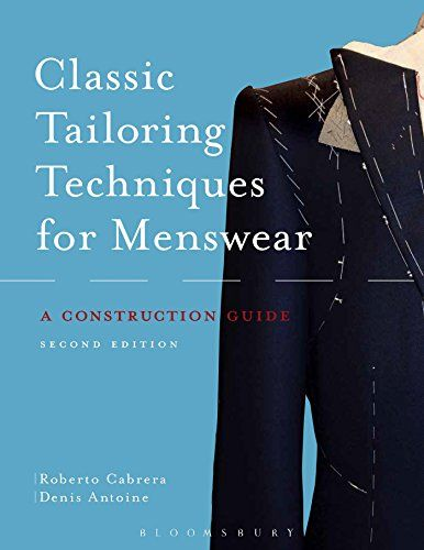 Classic Tailoring Techniques for Menswear: A Construction Guide by Roberto Cabrera http://www.amazon.com/dp/1628921706/ref=cm_sw_r_pi_dp_CrWcvb1E3A7BE