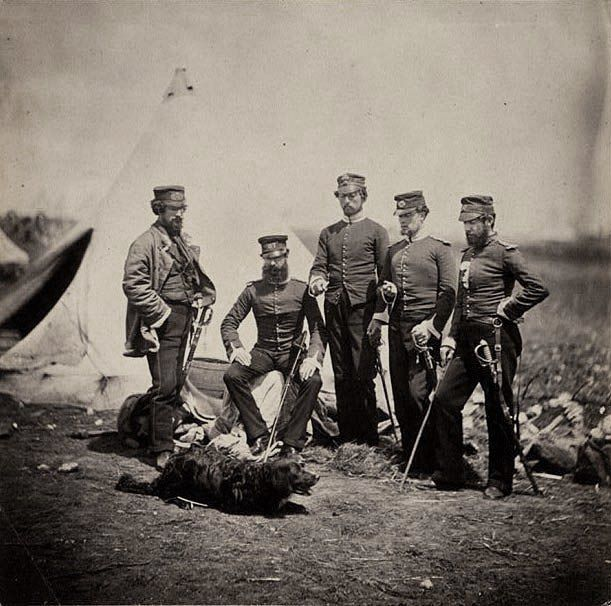 Officers of the 57th Regiment