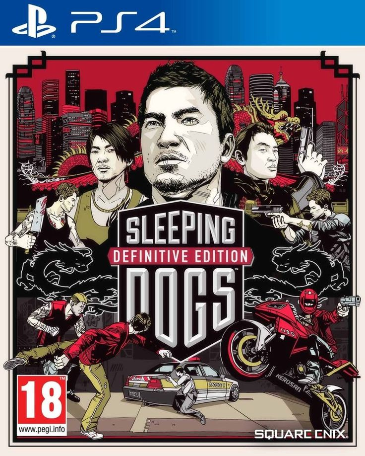 Sleeping Dogs Definitive Edition   PS4  NUOVO!!!