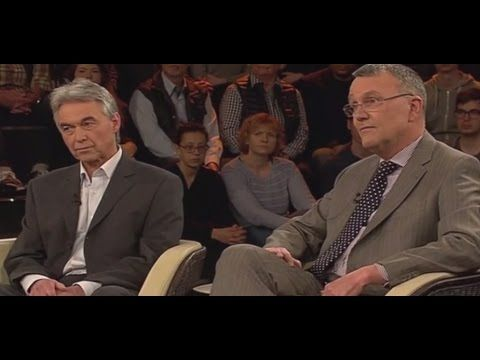 Syrien  - Politologe Michael Lüders und Toxikologe Maser bei Lanz