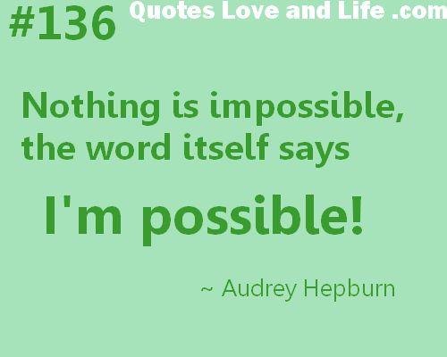 extreme positivity:)nice!