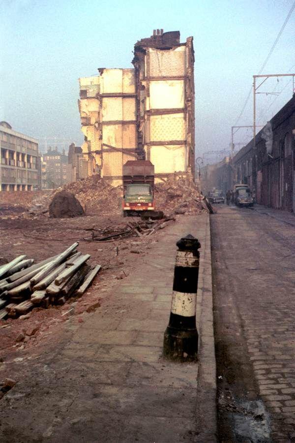 Demolished lives. Poyser Street, Bethnal Green, 1967
