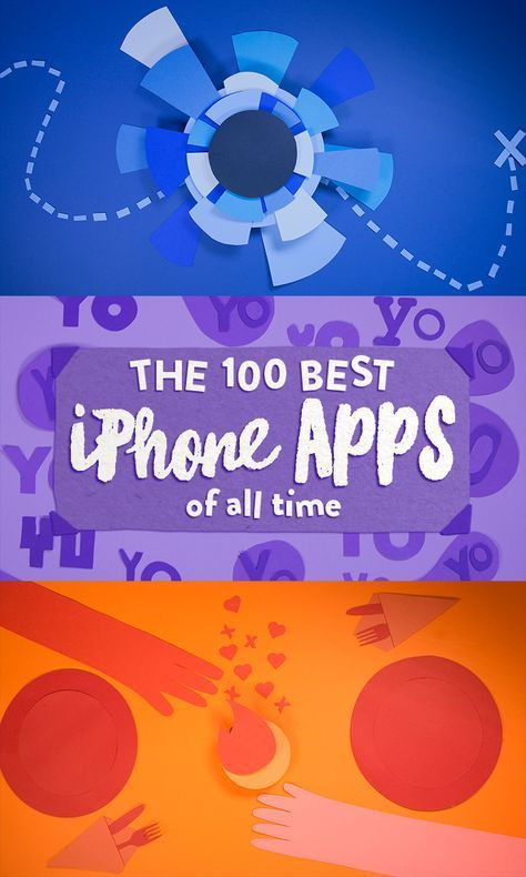 Here are the 100 best iPhone apps of all time!