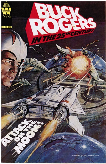 Buck Rogers Comic Spaceship