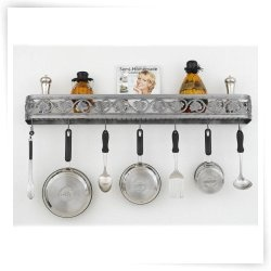Like the idea of using a pretty shower caddy type shelf for Kitchen cabinets 08857