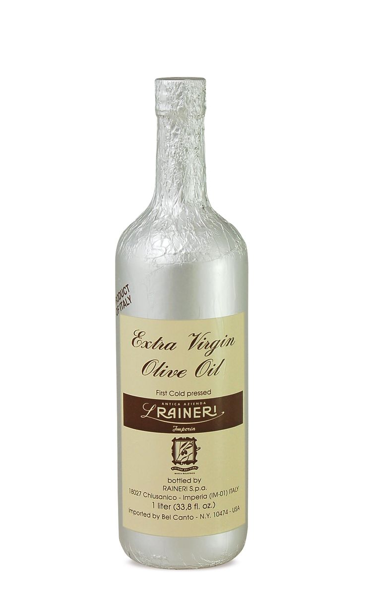 Extra Virgin Olive Oil - filtered - Silver foil..  Product of Italy