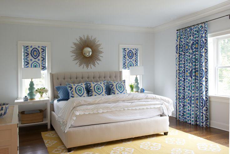 Master bedroom by Nightingale Design.
