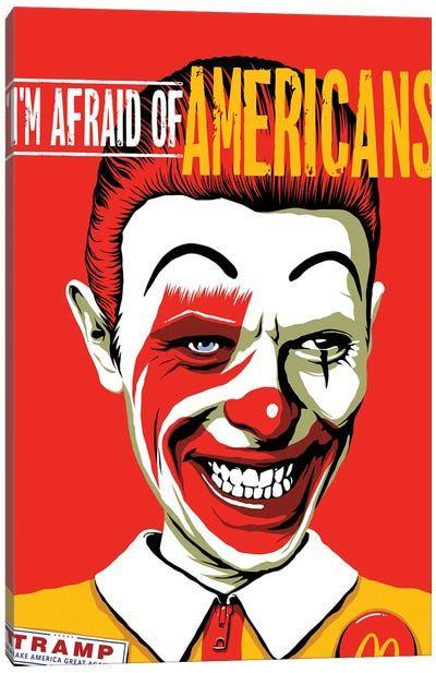 evil clowns canvas wall art icanvas in 2020 bowie art on icanvas wall art id=81770