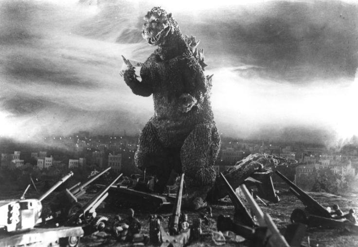 """The man behind the monster has died: Haruo Nakajima, who wore the Godzilla bodysuit for every """"Godzilla"""" film from the original to 1972's """"Godzilla vs. Gigan,"""" has died at 88. Noooooooo!"""