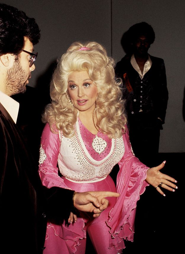 19 of Dolly Parton's Most Fanciful Sleeves: And the magic of these lie in their almost aggressive femininity.
