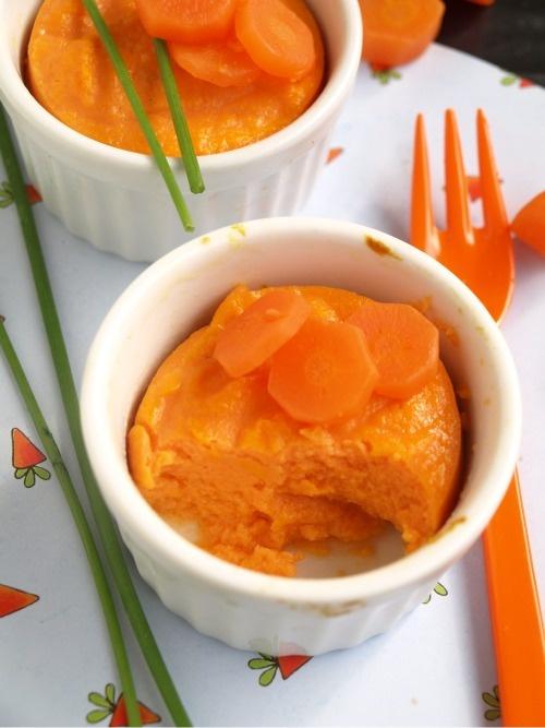 Budino di carote