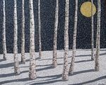 Мобильный LiveInternet Мозаика из яичной скорлупы. Великолепные работы Linda Biggers   DragooonFly - Со всего света, только самое лучшее!  