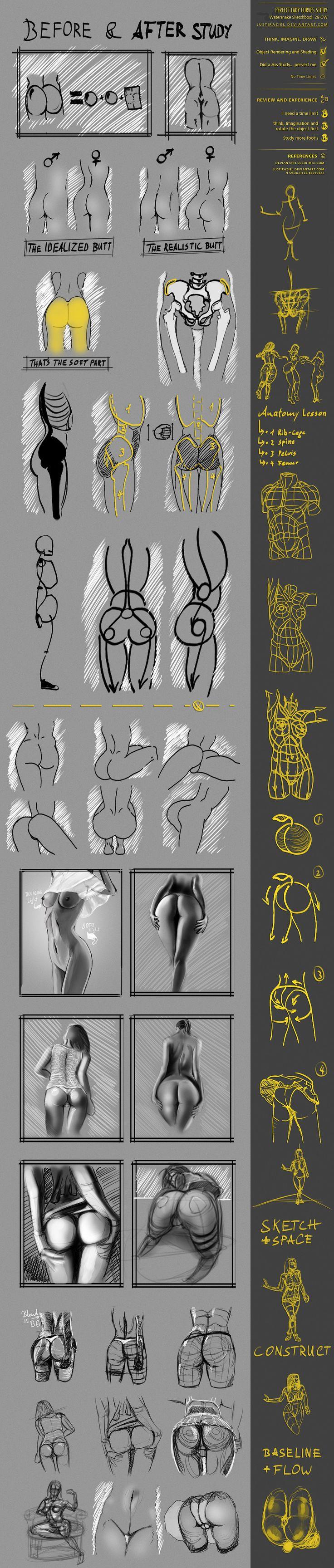 CW 29 Perfect Lady Curves Study by JustIRaziel.deviantart.com on @DeviantArt