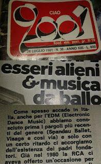 ABC Articoli: Spandau Ballet tra i precursori della Electonic Da...