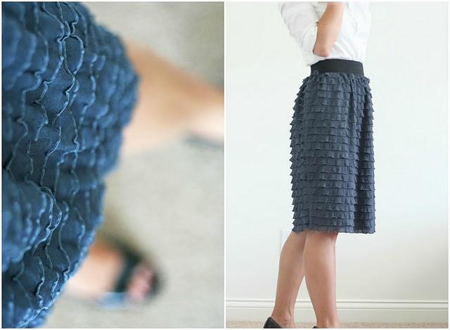 Cute handmade skirt.