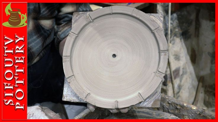Pottery watch video: How to make a pottery watch on potter's wheel. #104