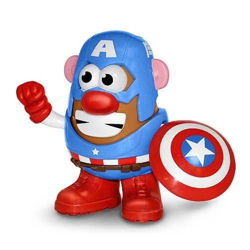Avengers Captain America Mr. Potato Head
