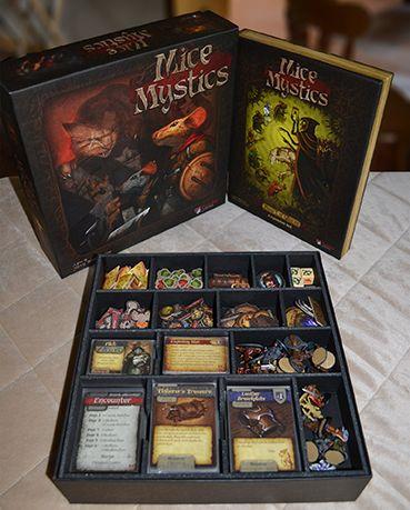 Mice and Mystics Premium Insert   News   Plaid Hat Games