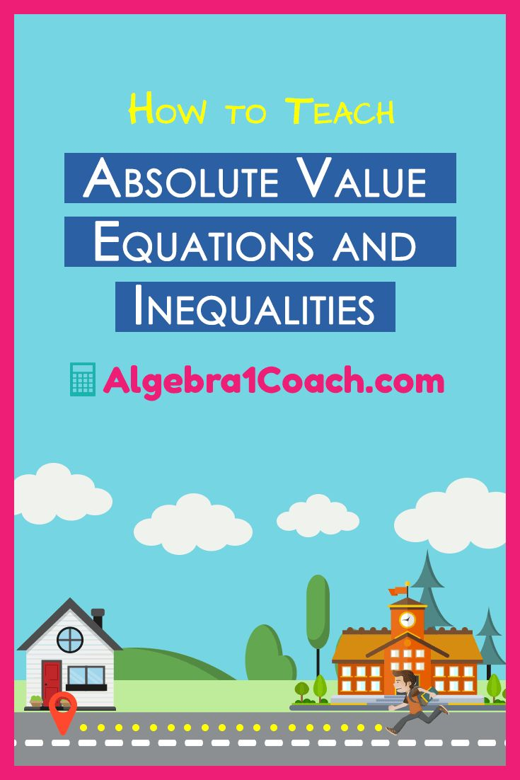 17 best ideas about algebra help algebra math great printables to help teach absolute value and inequalities algebra1coach