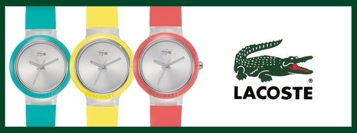 ΝΕΑ ρολόγια LACOSTE σε μοναδικά σχέδια μόνο στο OROLOI.GR! http://www.oroloi.gr/index.php?cPath=383
