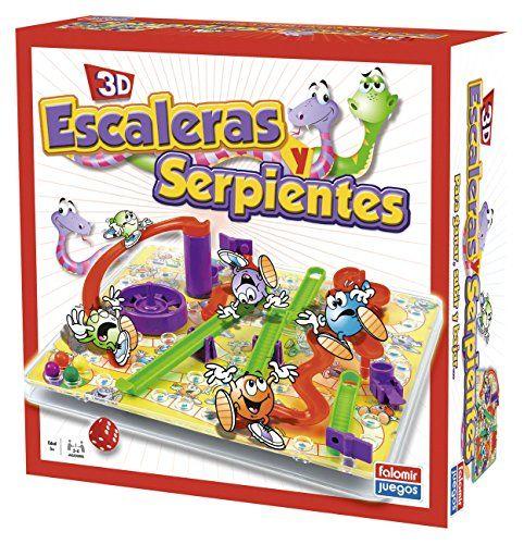 Falomir – Juego Escaleras Y Serpientes 3D 32-22001