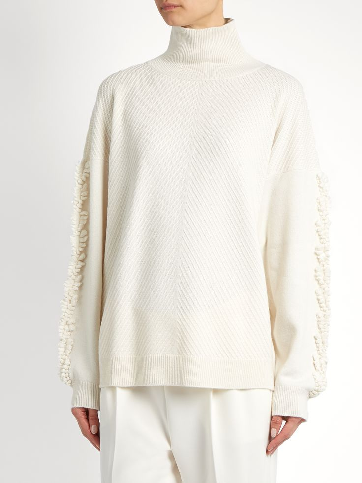 Timeless roll-neck cashmere sweater | Barrie | MATCHESFASHION.COM