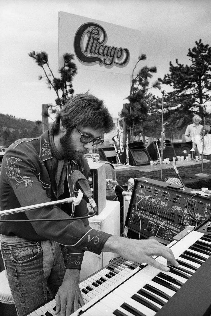 Robert Lamm - organist with a smooth baritone voice (one of three singers) and songwriter for Chicago.