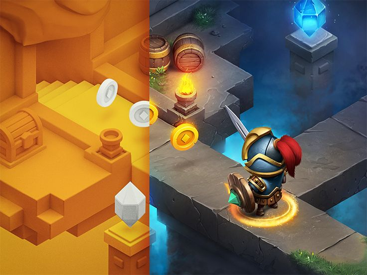 RPG / iOs game by Mike | Creative Mints