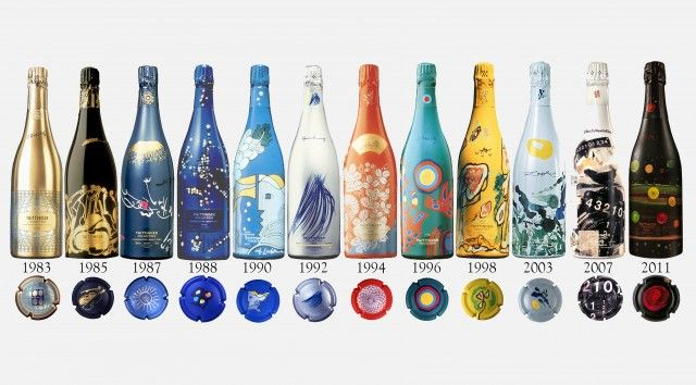 Michael Cox Taittinger Champagne collection of limited editions to be auctioned