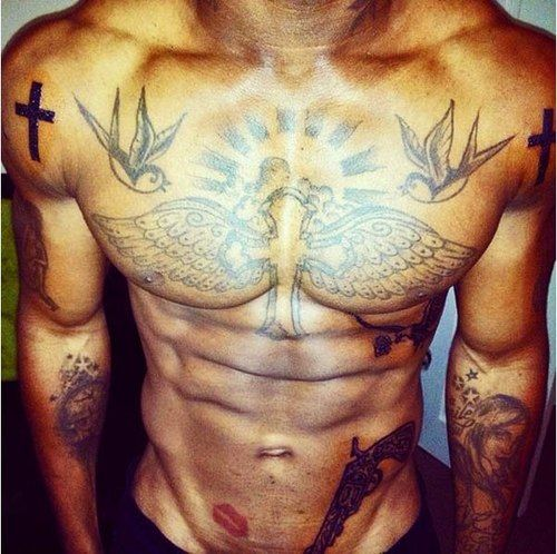 I Want His Chest Piece On My Back W/ A Saying To RIP My