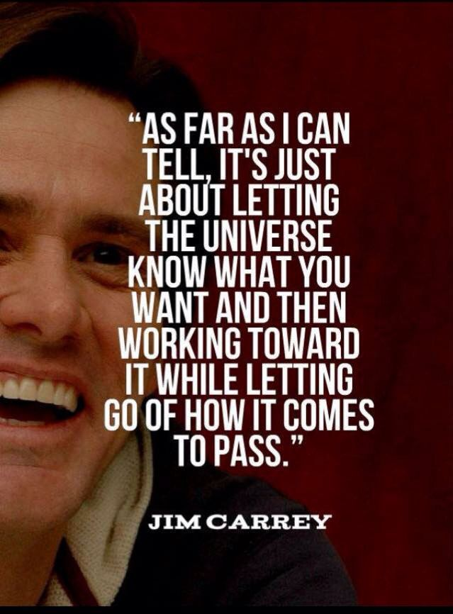 Jim Carrey knows how the Universe works ! #lawofattraction #loa