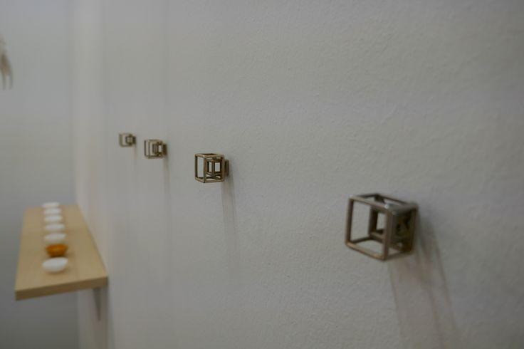 3D printed Square Screws exhibited at London Design Fair 2017, MALINKO Design