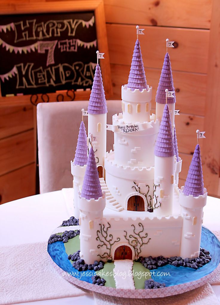"easy castle cake ideas | Let's get to the ""How to's""!"