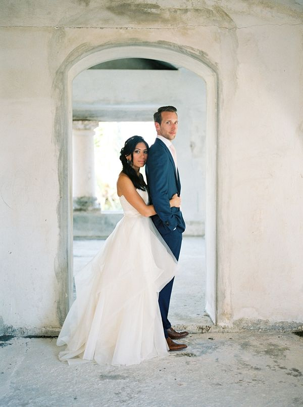 Bride and Groom Portrait | Brittany Lauren Photography on @bajanwed via @aislesociety