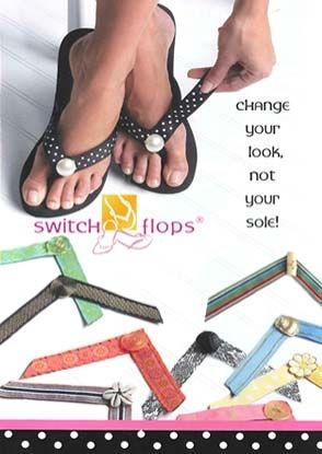 Switch Flops - Change the look, not the shoe.