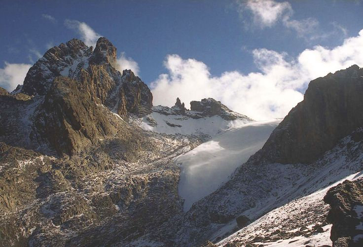 MtKenya gletscher - Mount Kenya - Wikipedia, the free encyclopedia