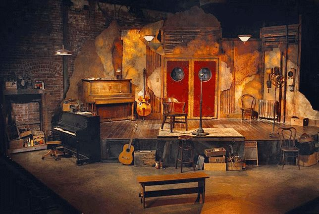 Blues for an Alabama Sky. Set and lighting design by Joel ...
