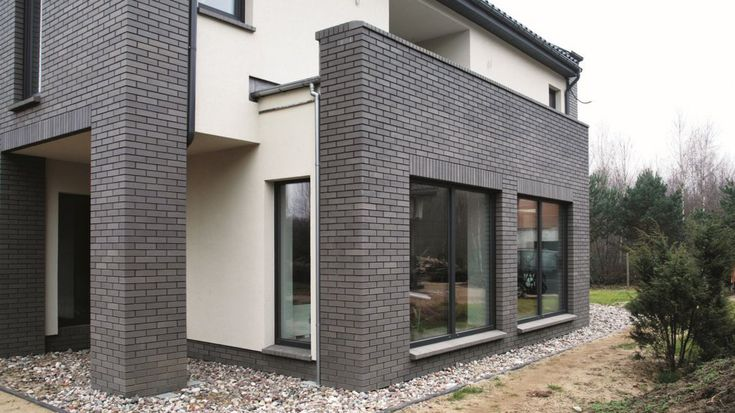 Hausfassade Gestalten Holz #3 fassade Pinterest House - garageneinfahrt am hang
