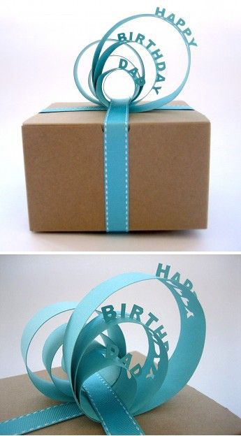 pop-up wrapping ribbon - Click image to find more Design Pinterest pins