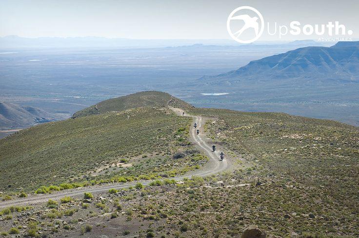 Ouberg Pass - Tankwa Karoo. Breathtaking views. BMW Motorcycle Tours.